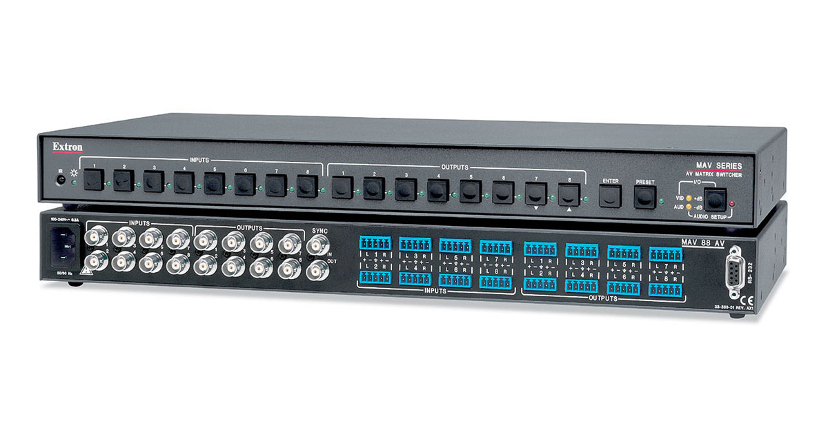 DRIVER UPDATE: EXTRON MTPX PLUS 3216 MATRIX SWITCHER