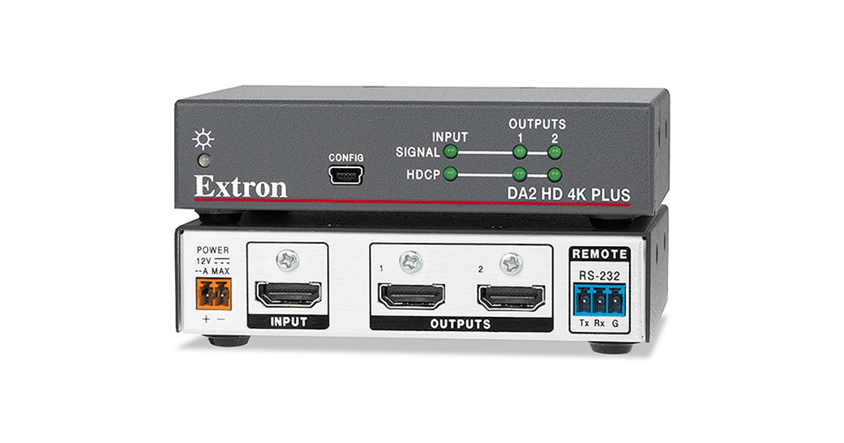 Hdmi Distribution Amplifiers Extron