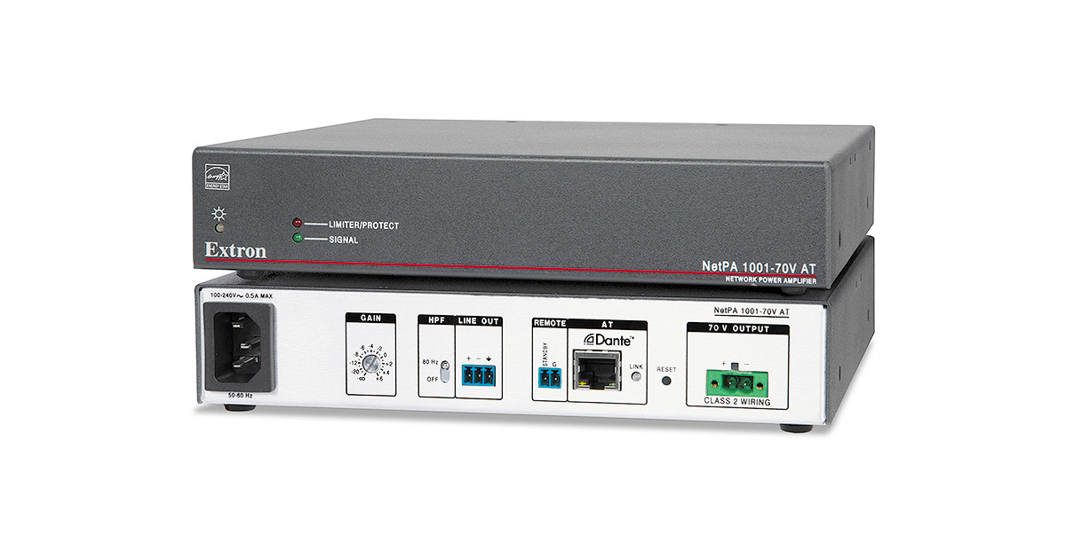 Network Power Amplifiers | Extron