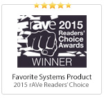 rAVe 2015 Reader's Choice Award