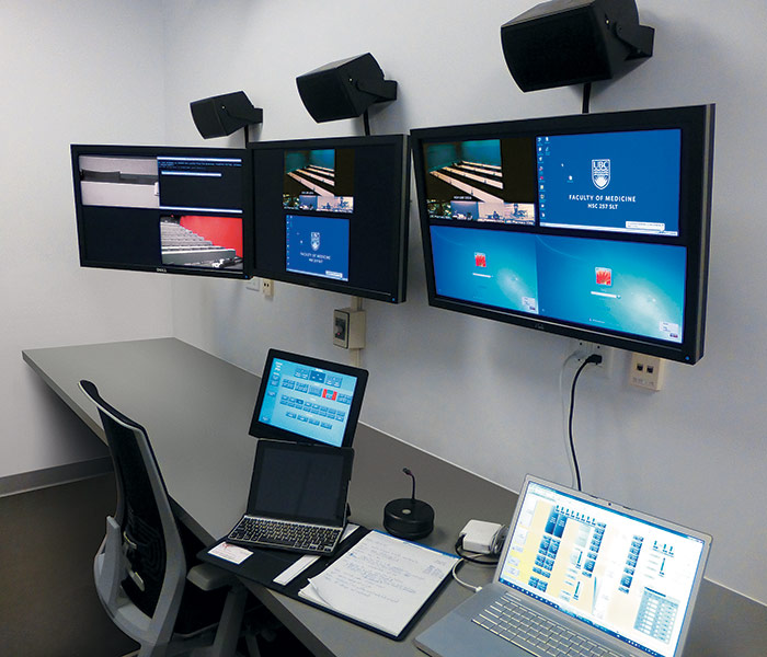 The central control room at an active site operates the TEL system for a facility that lacks the space for a local control room.