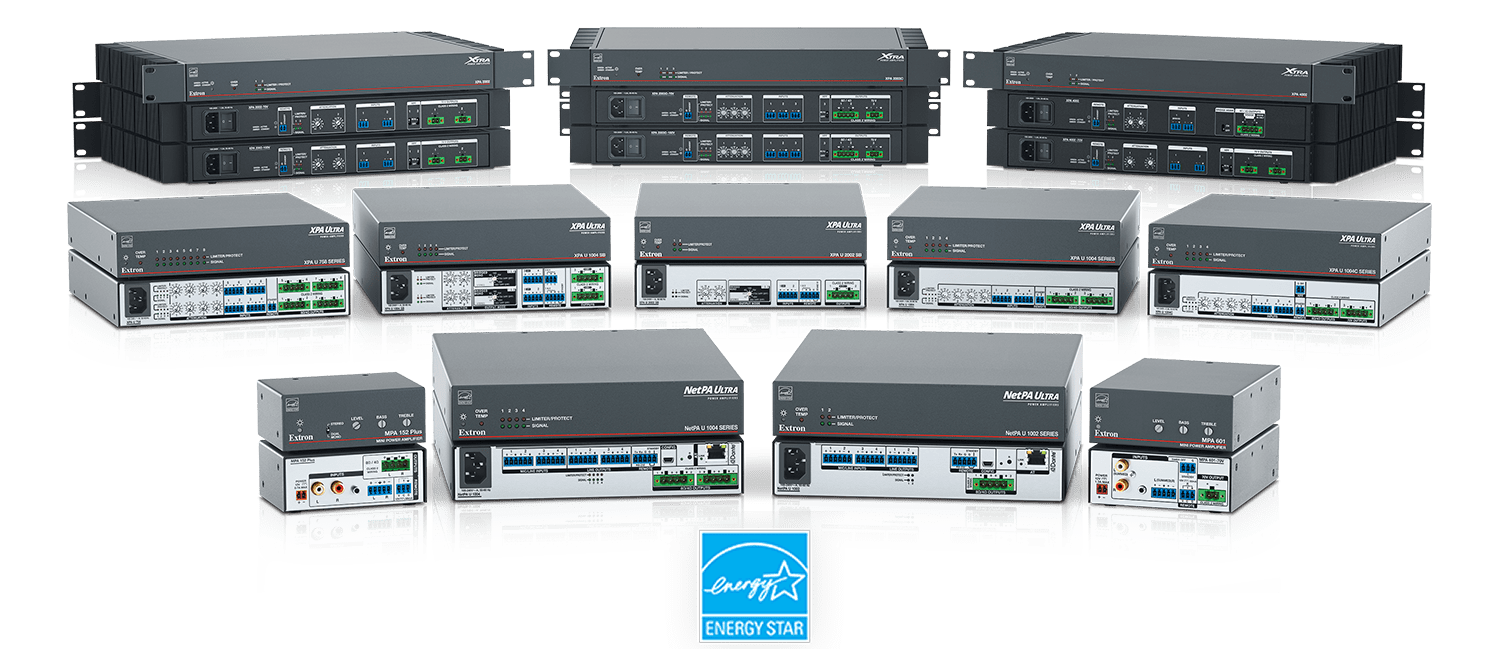 ENERGY STAR Qualified Amplifiers