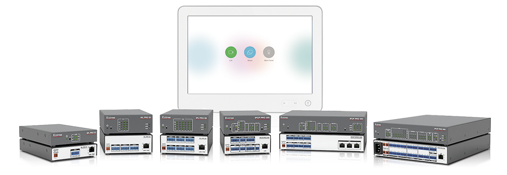 Seamlessly Integrate IP Link Pro Control Processors with Cisco Telepresence Touch 10