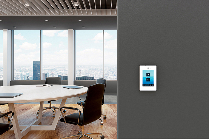 Conference room with touchpanel product