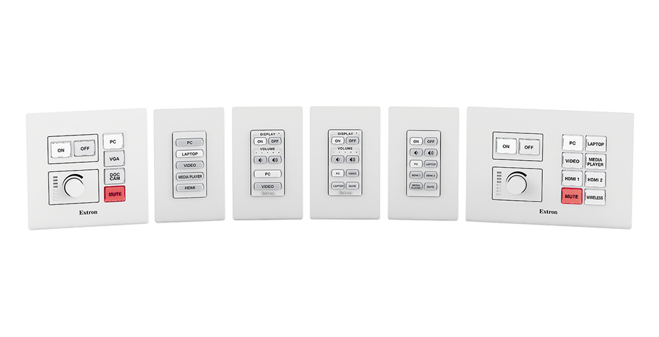 Network Button Panels