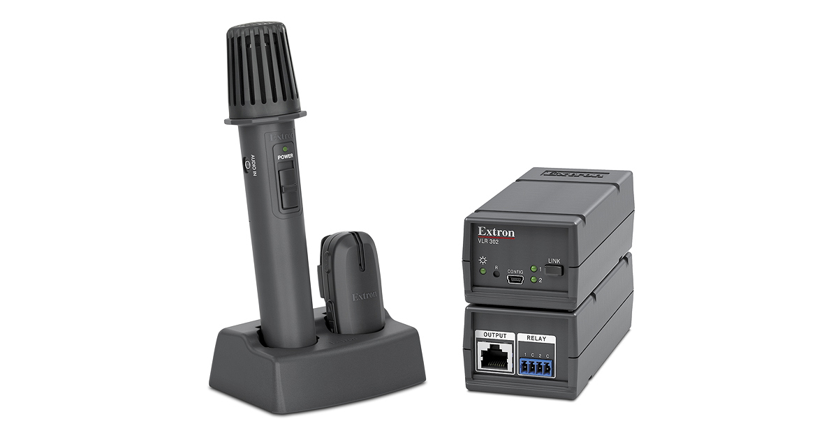 VoiceLift Pro Microphone and accessories