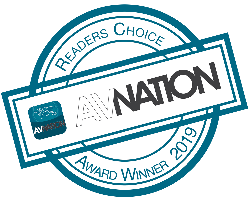 Readers Choice AVNation Award Winner 2019
