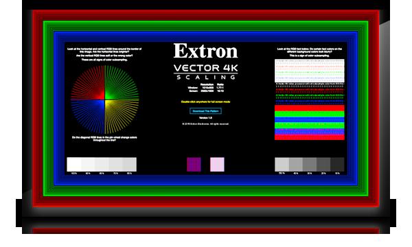 4:4:4 Test Pattern | Extron