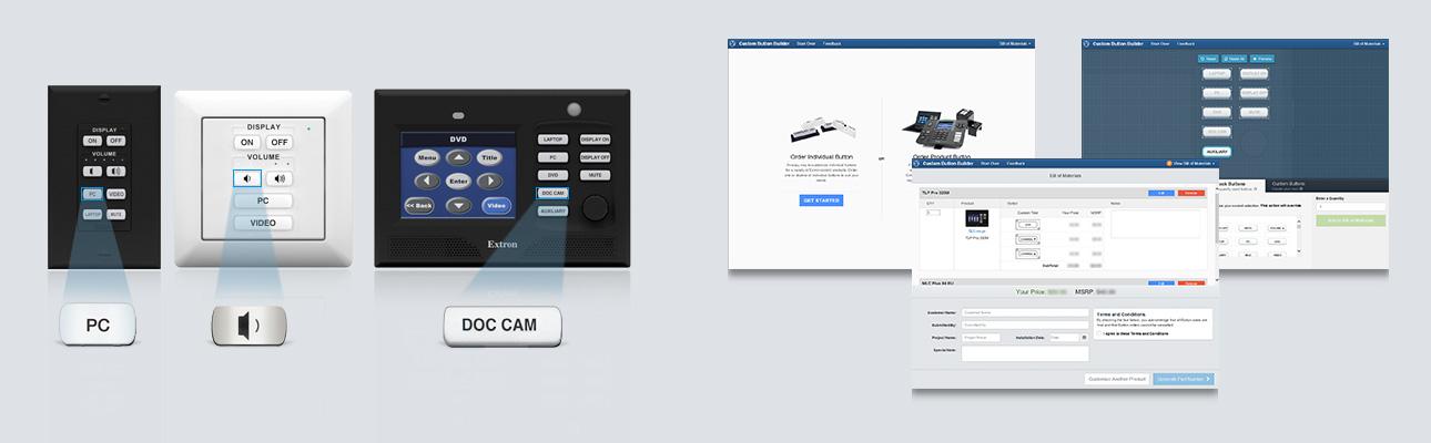 Custom Button Builder | Extron