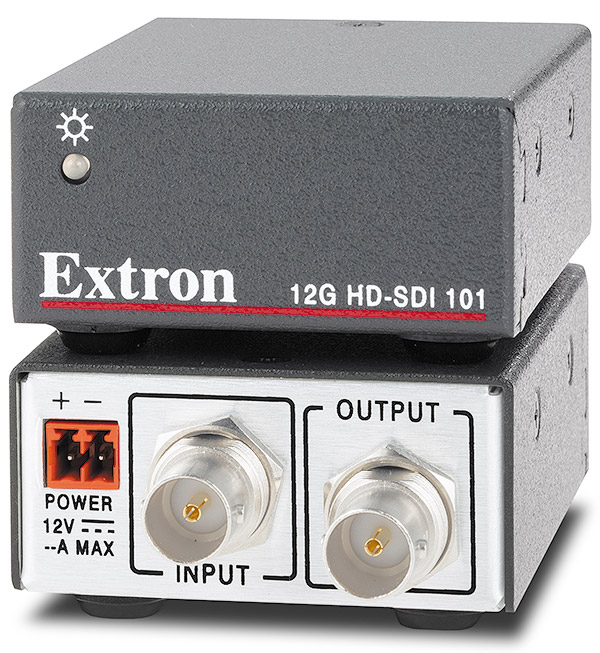 The Extron 12G HD-SDI 101