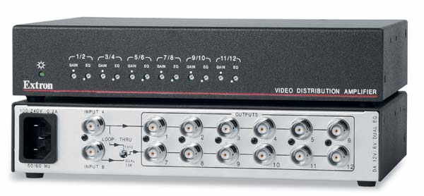The Extron DA 12V/6V Dual EQ