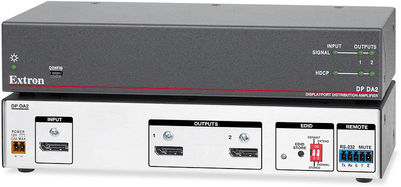 The Extron DP DA2