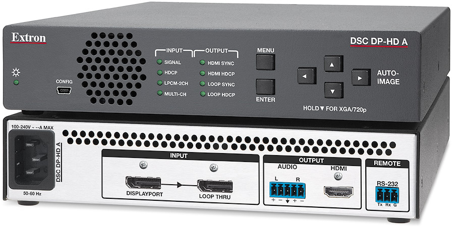 The Extron DSC DP-HD A