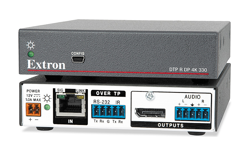 The Extron DTP R DP 4K 330