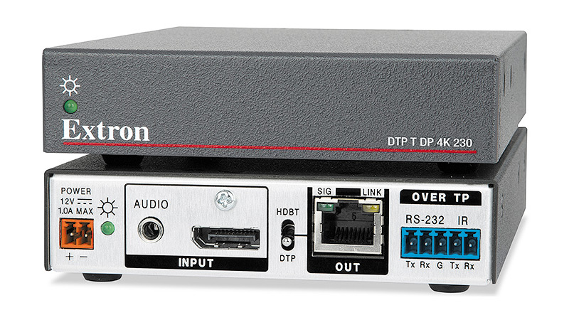 The Extron DTP T DP 4K 230