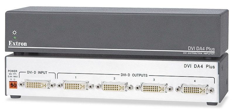 DVI DA4 Plus - Four Output with EDID Minder