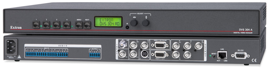 DVS 304 AD - With SDI Input and Audio Switching