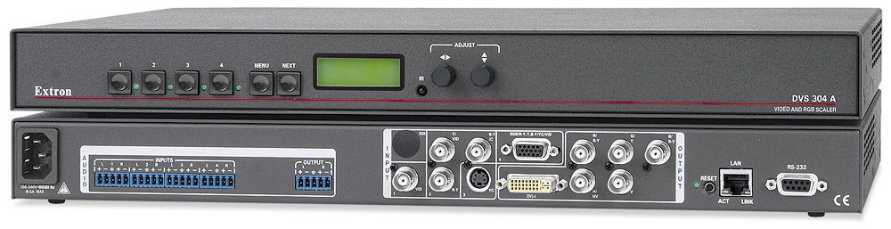 DVS 304 DVI A - With Audio Switching