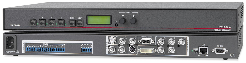 DVS 304 DVI AD - With SDI Input and Audio Switching