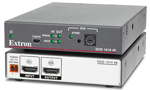 The Extron EDID 101H 4K