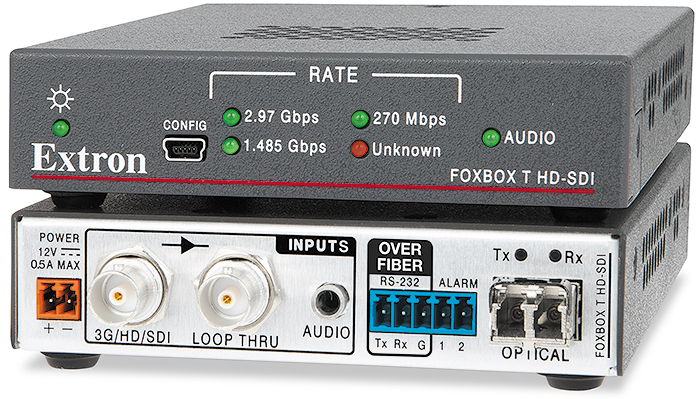 The Extron FOXBOX T HD-SDI