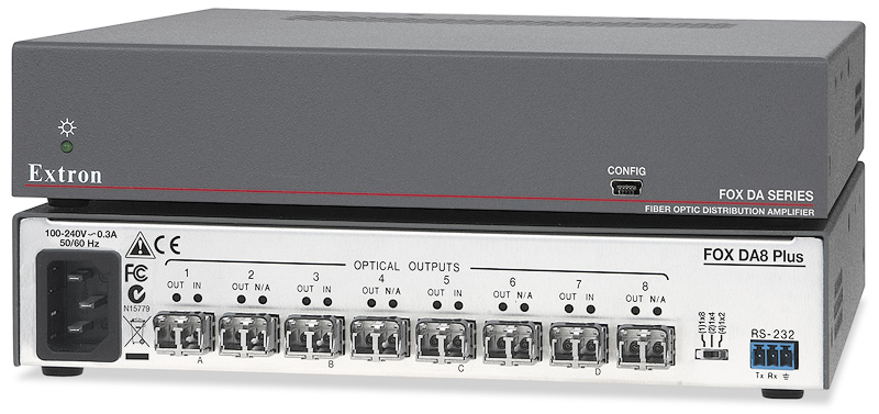 The Extron FOX DA8 Plus