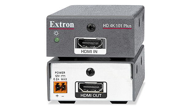 The Extron HD 4K 101 Plus