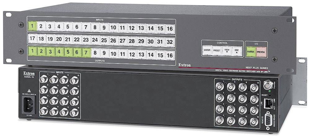 The Extron HDXP Plus 1616