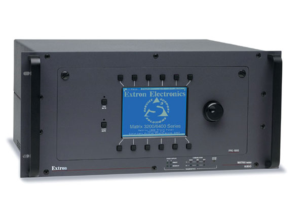The Extron Matrix 6400 Audio