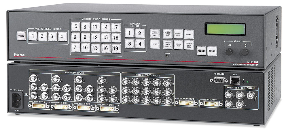 MGP 464 DI - Four Windows, With 4 DVI Inputs