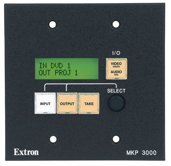 The Extron MKP 3000