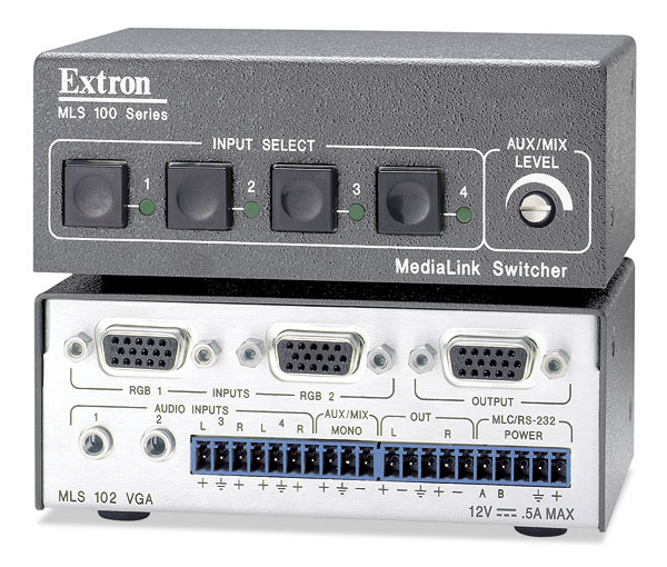 The Extron MLS 102 VGA