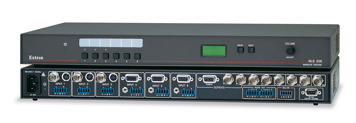 The Extron MLS 306