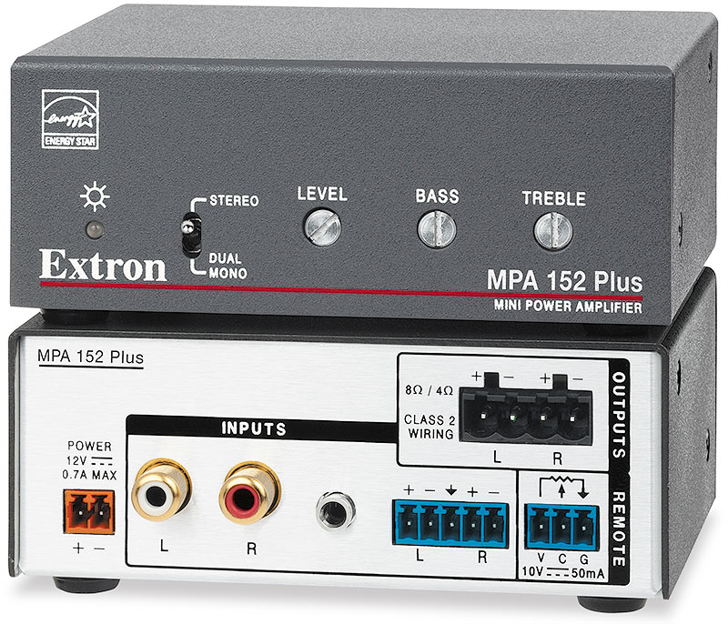 The Extron MPA 152 Plus