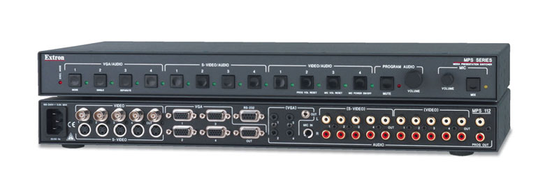 MPS 112 - Switcher with RCA Audio Output