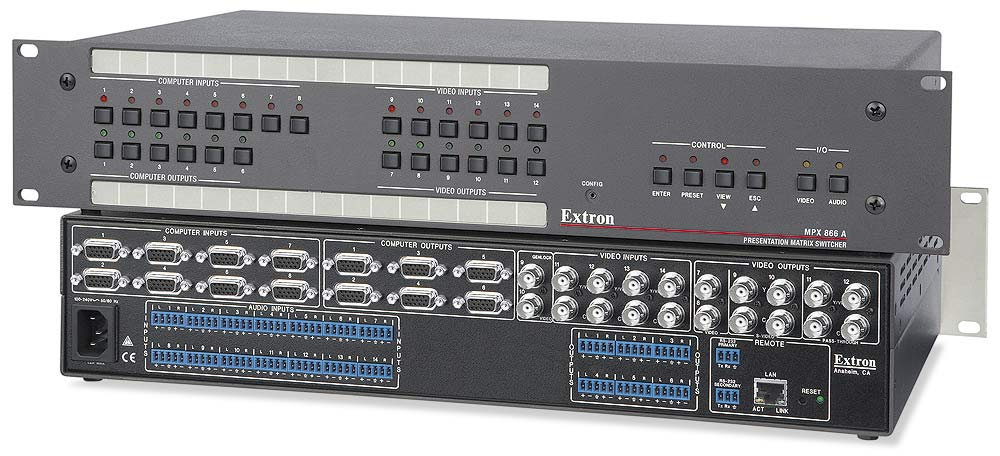 The Extron MPX 866 A