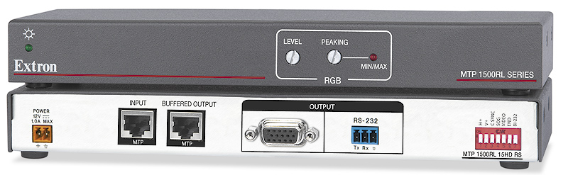MTP 1500RL 15HD RS - Receiver