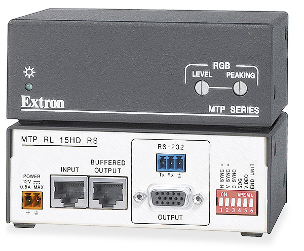 MTP RL 15HD RS - Receiver