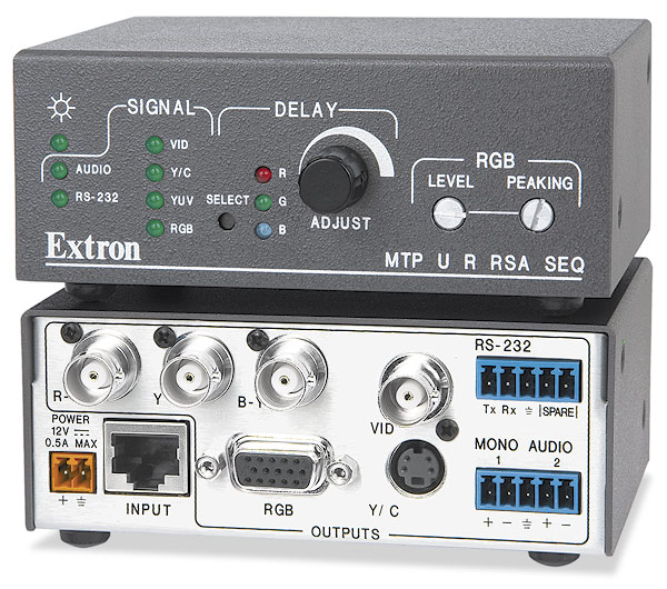 The Extron MTP U R RSA SEQ