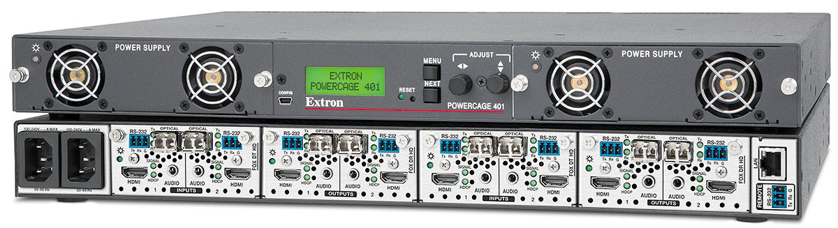 The Extron PowerCage 401