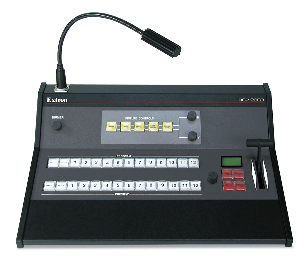 RCP 2000 - ISS 408 Remote Control Panel