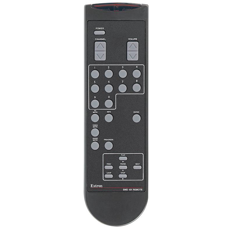 The Extron SMD 101 Remote