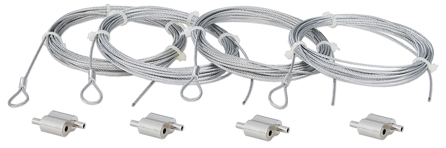 SMK A 4C - 4-pack Speaker Aircraft Cable Kit for the SF 26PT