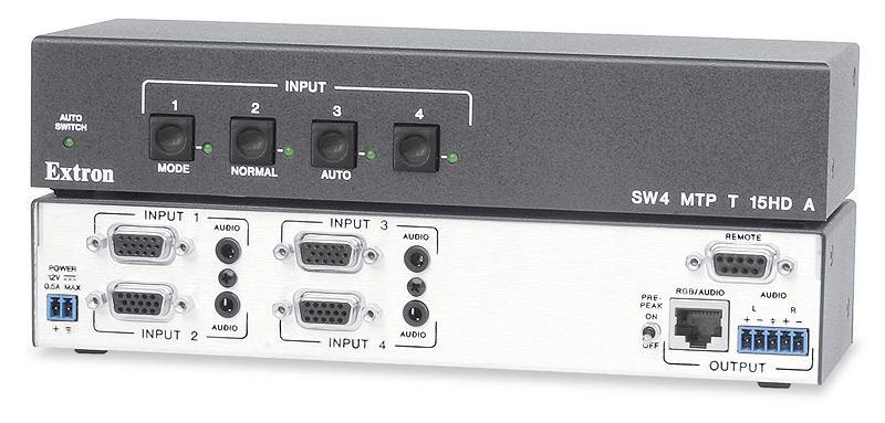 SW4 MTP T 15HD A - Four Inputs