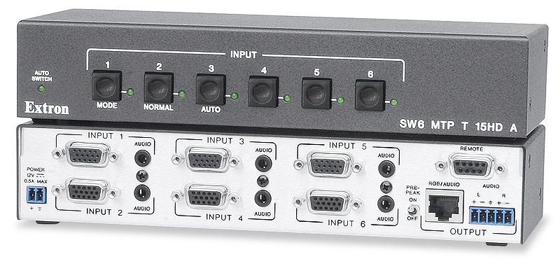 SW6 MTP T 15HD A - Six Inputs