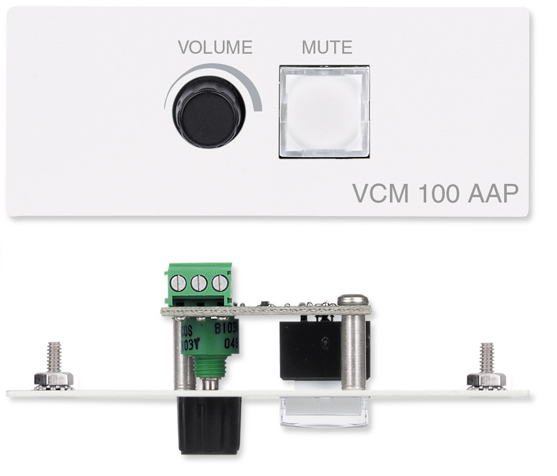 VCM 100 AAP - Volume & Mute Controller - AAP - White
