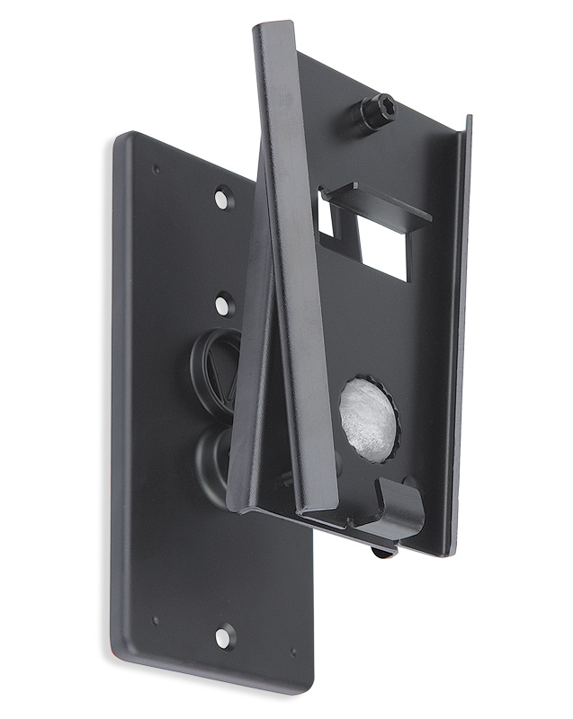 V-Lock Wall Bracket - V-Lock for SI 26 & SI 28, Pair - Black