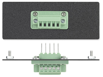 The Extron One 3.8 mm 5-pin Captive Screw Terminal Connector