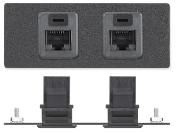 The Extron Two RJ-45 Female to Female Barrels