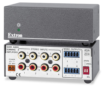 Extron ASA 304 Audio Summing Amplifiers